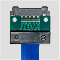 MICTOR multi-conductor cable assemblies